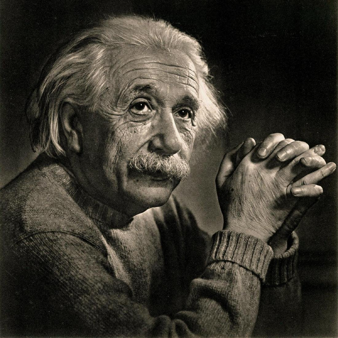 14: YOUSUF KARSH - Albert Einstein
