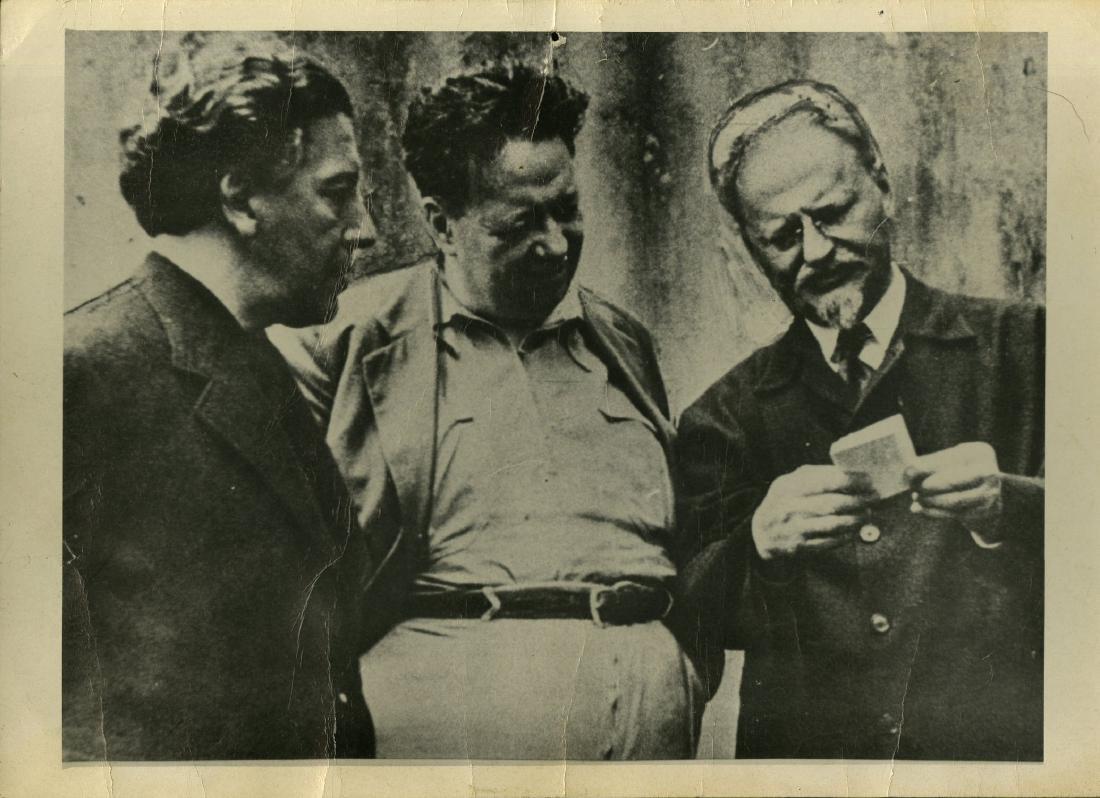 23: FRITZ BACH - Andre Breton, Diego Rivera, Leon