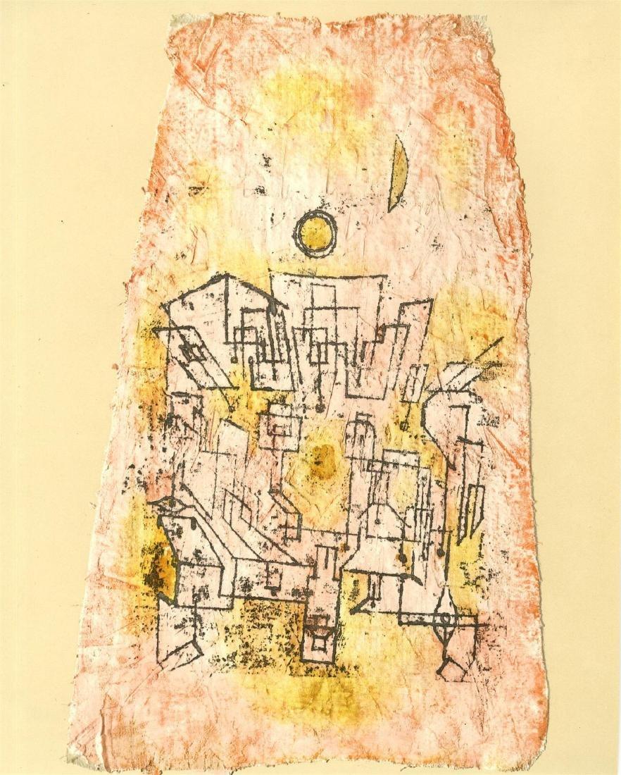 """29: PAUL KLEE - Arabian City [""""Arabische Stadt""""]"""