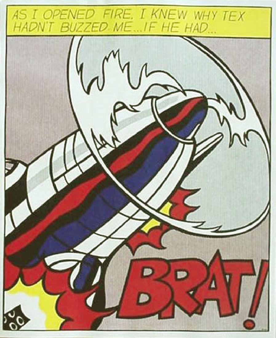 31: ROY LICHTENSTEIN - As I Opened Fire [later edition]