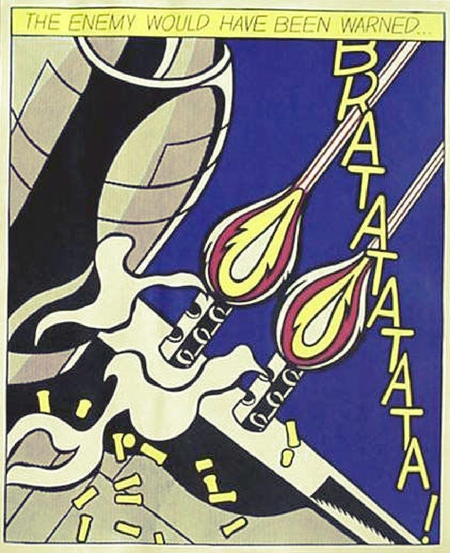 31: ROY LICHTENSTEIN - As I Opened Fire [later edition] - 2