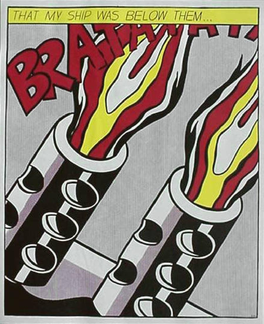 31: ROY LICHTENSTEIN - As I Opened Fire [later edition] - 3