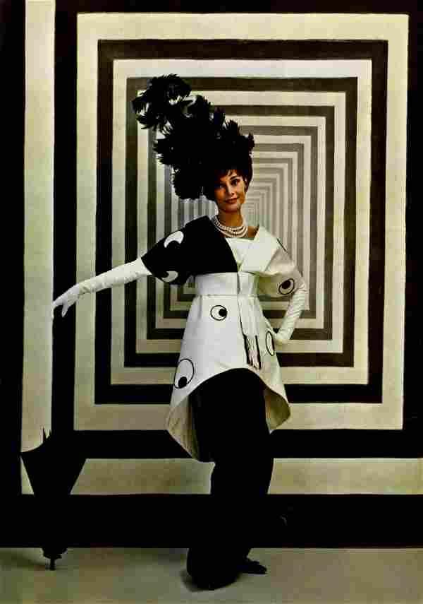44: CECIL BEATON - Audrey Hepburn in 'My Fair Lady' #1