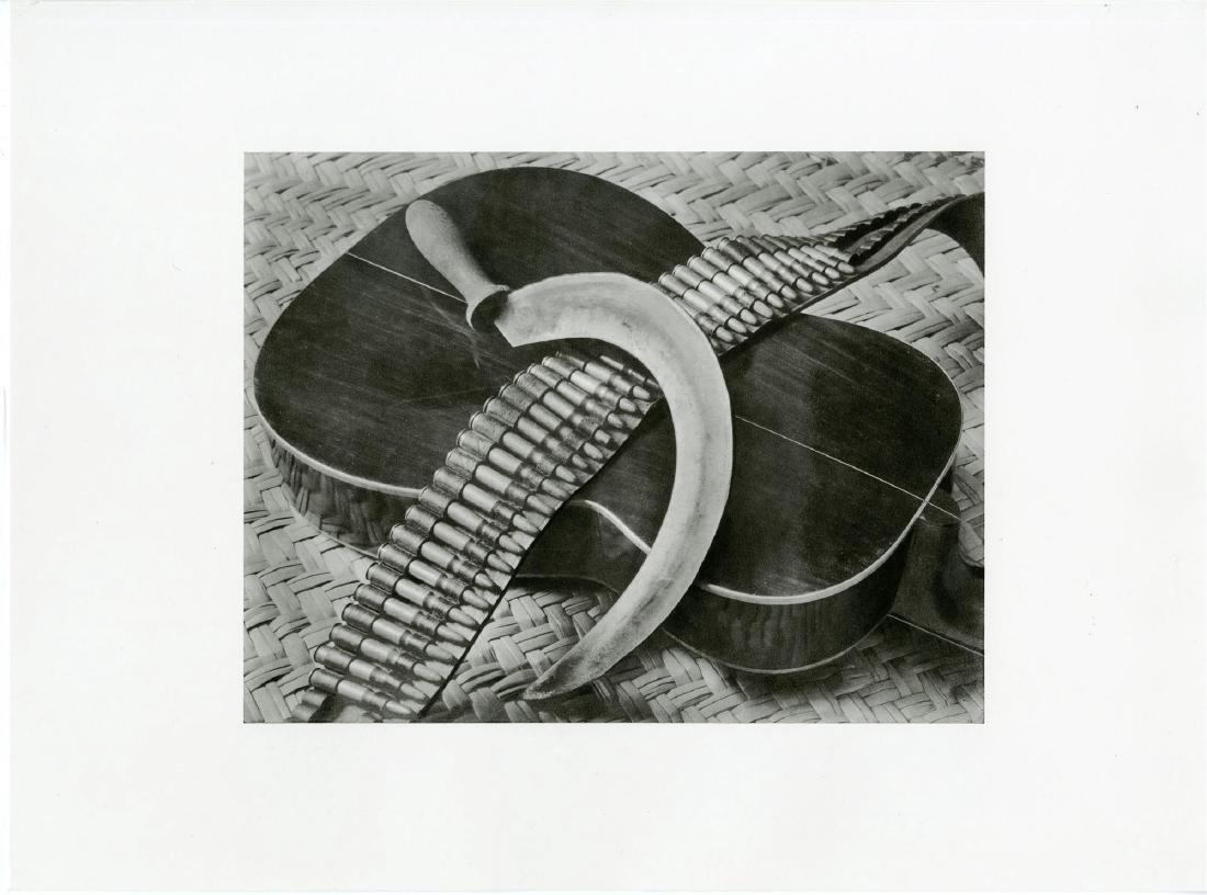 59: TINA MODOTTI - Bandolier, Guitar, Sickle