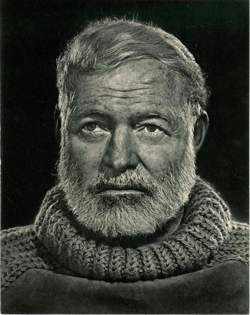 208: YOUSUF KARSH - Ernest Hemingway