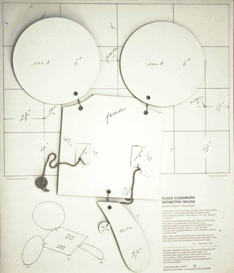 254: CLAES OLDENBURG - Geometric Mouse - Scale D