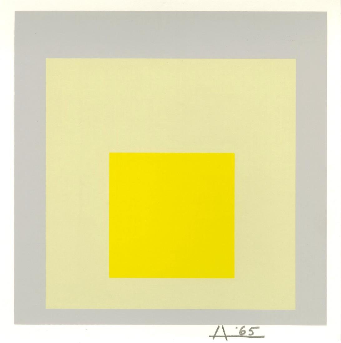 274: JOSEF ALBERS - Homage to the Square: Impact
