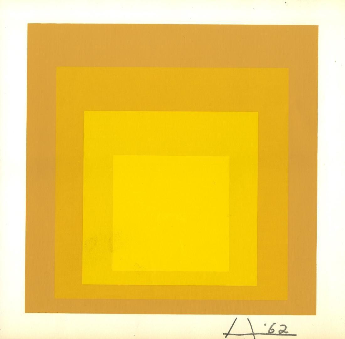 276: JOSEF ALBERS - Homage to the Square: Rare Echo
