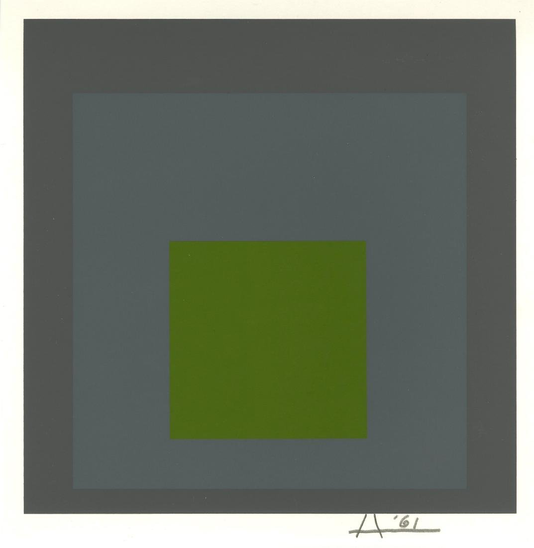 278: JOSEF ALBERS - Homage to the Square: Thaw