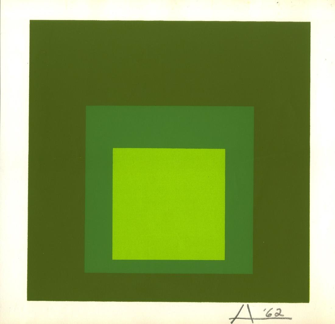 279: JOSEF ALBERS - Homage to the Square: Tuscany