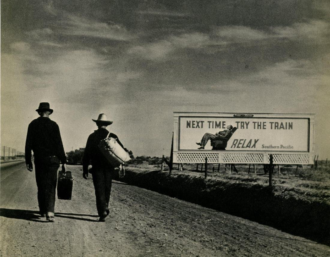 392: DOROTHEA LANGE - Next Time Try the Train