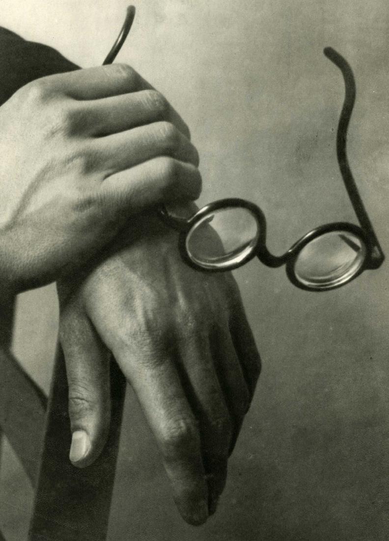 421: ANDRE KERTESZ - Paul Arma's Hands, Paris
