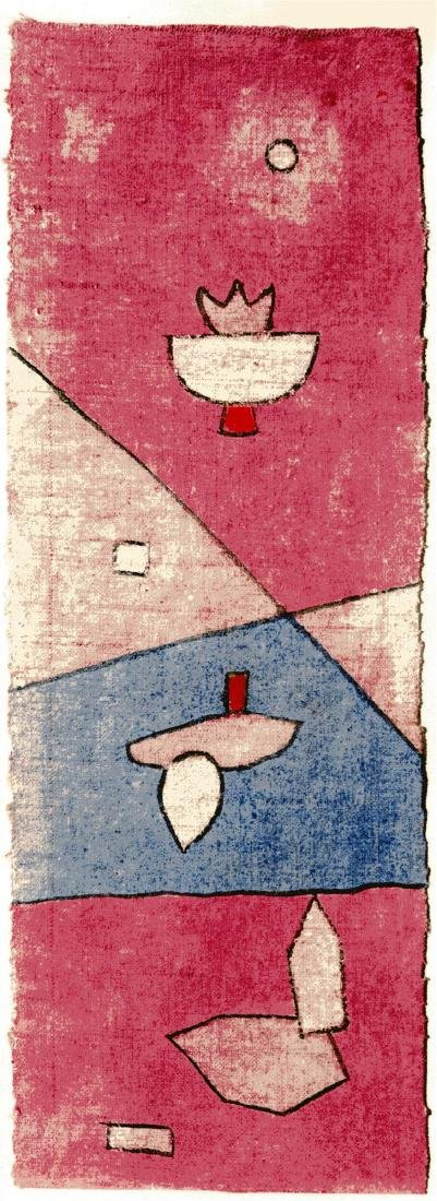 "430: PAUL KLEE - Plants - Analytical [""Vegetal et"