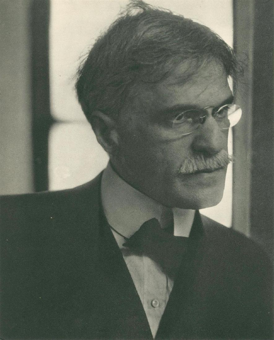 433: EDWARD STEICHEN - Portrait of Alfred Steiglitz