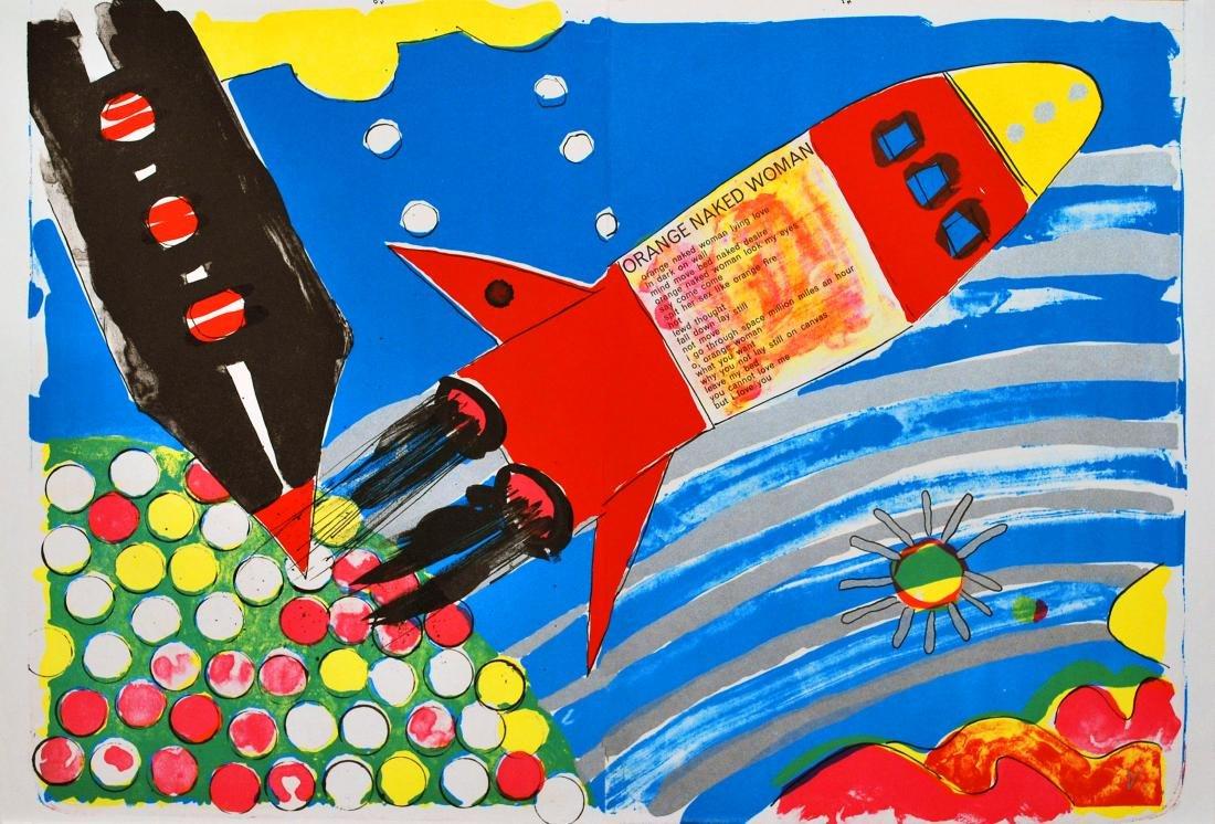 461: KIKI KOGELNIK [kiki o.k.] - Rocket Ship