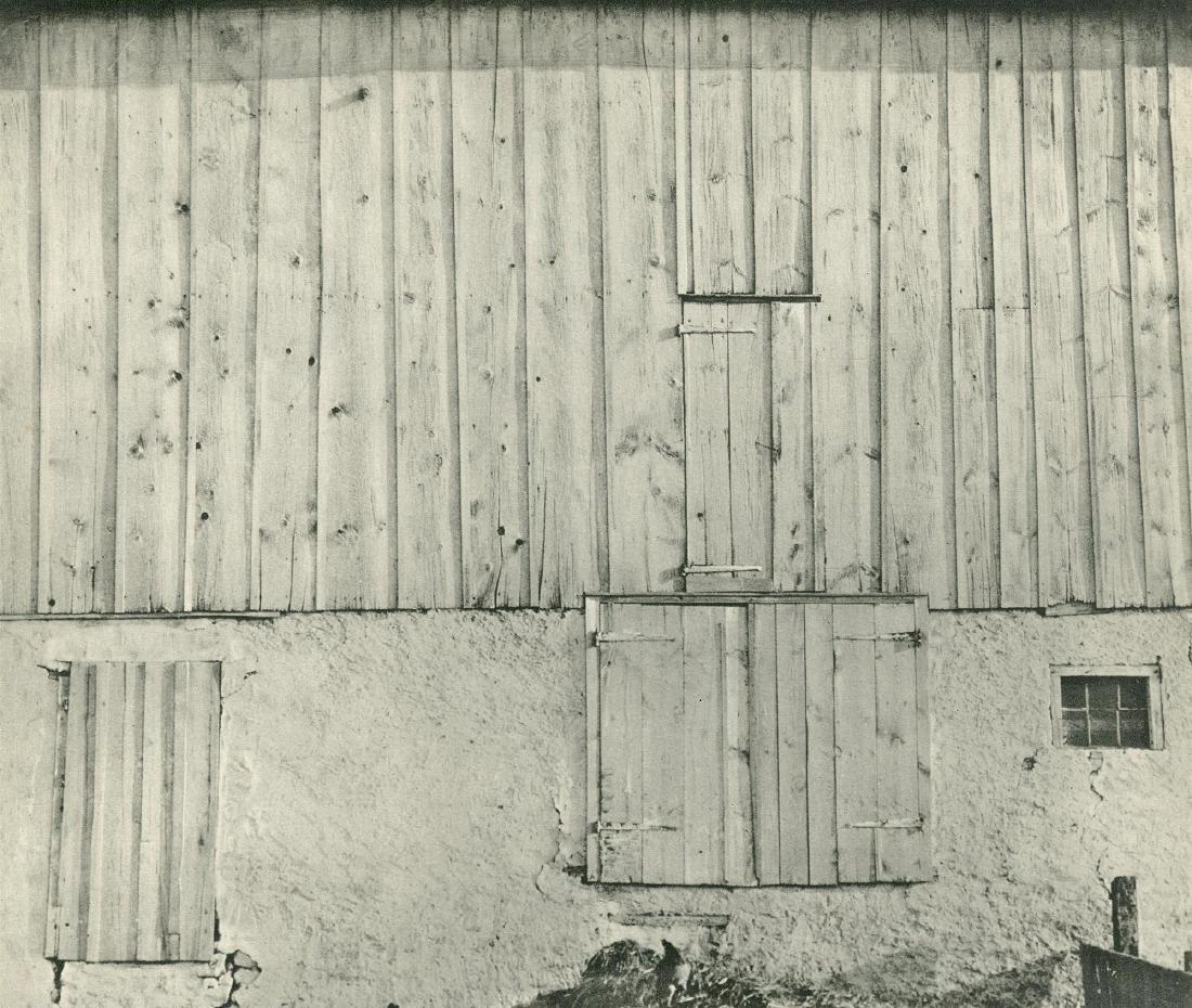 491: CHARLES SHEELER - Side of White Barn