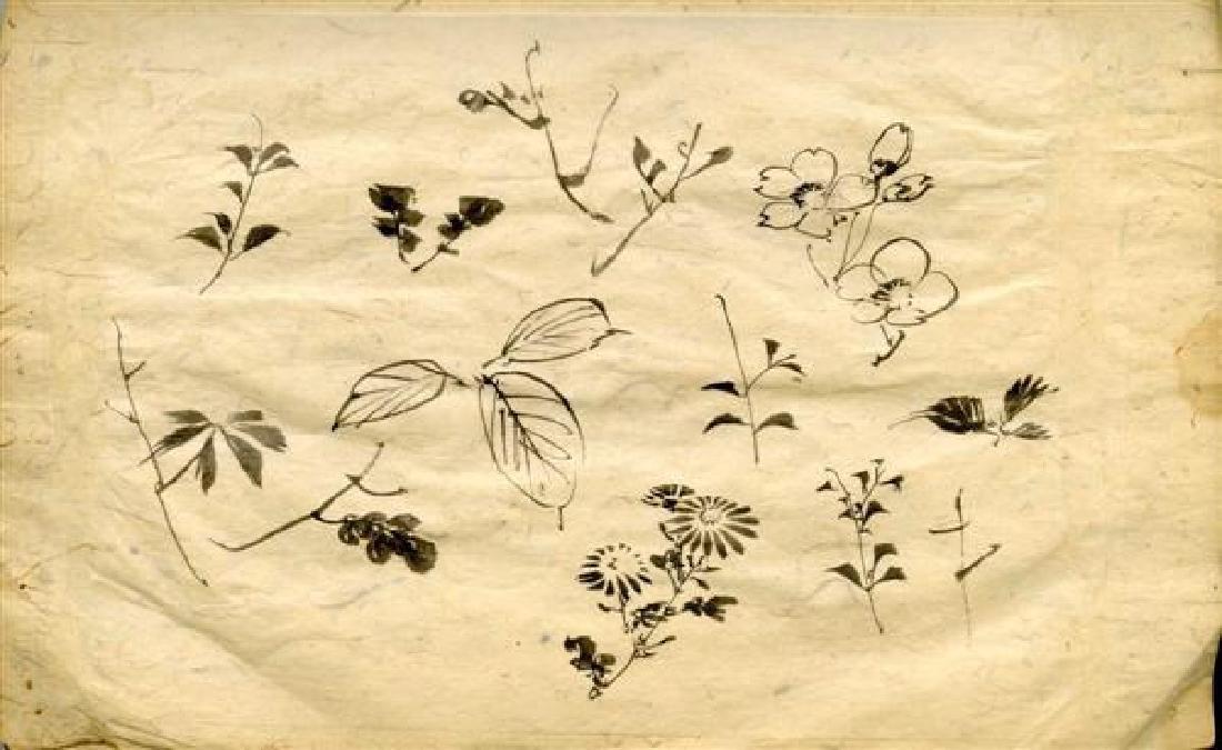 513: TSUKIOKA YOSHITOSHI - Study for Hanging Scroll #03