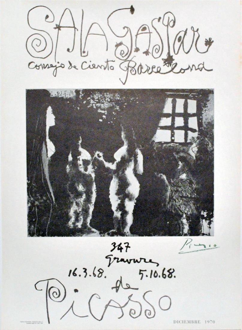 644: PABLO PICASSO - 347 Gravures de Picasso