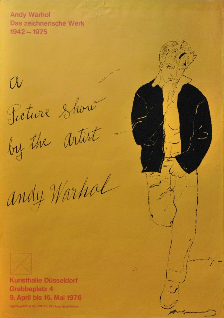 648: ANDY WARHOL - A Picture Show by the Artist