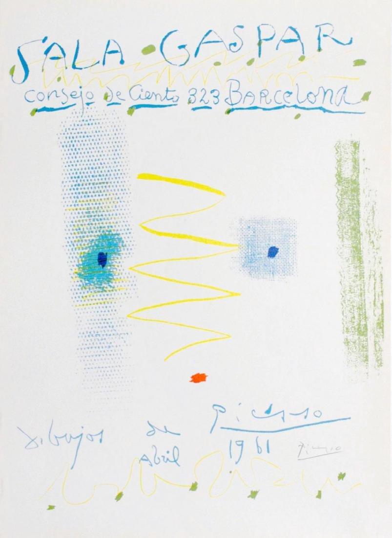 654: PABLO PICASSO - Affiche - Dibujos de Picasso -