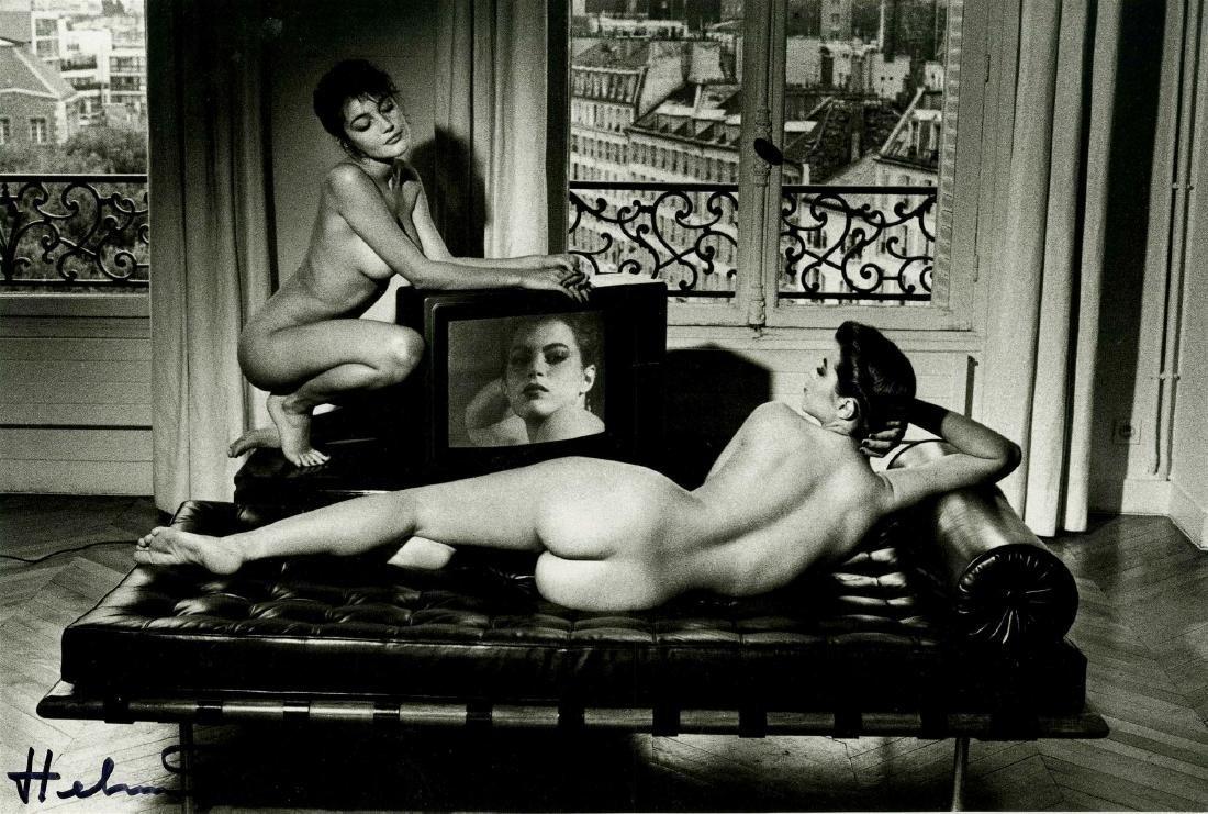 655: HELMUT NEWTON - After Velazquez, In My Apartment,
