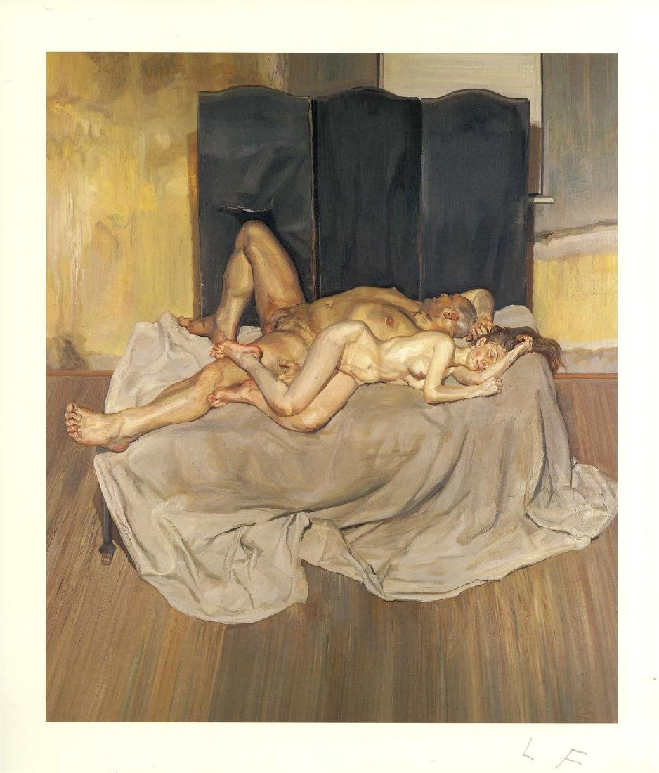 661: LUCIAN FREUD - And the Bridegroom