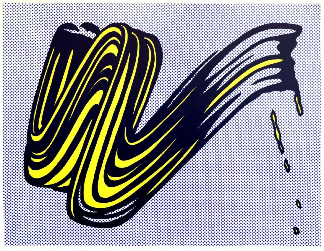 705: ROY LICHTENSTEIN - Brushstroke