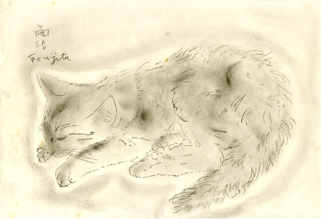 723: LEONARD TSUGUHARU FOUJITA - Chat dormant