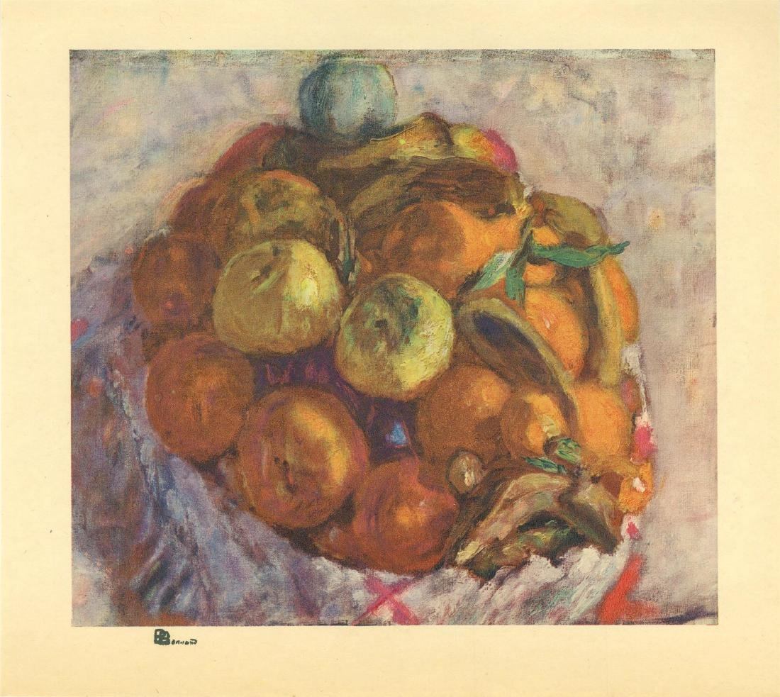 749: PIERRE BONNARD - Corneille de fruits