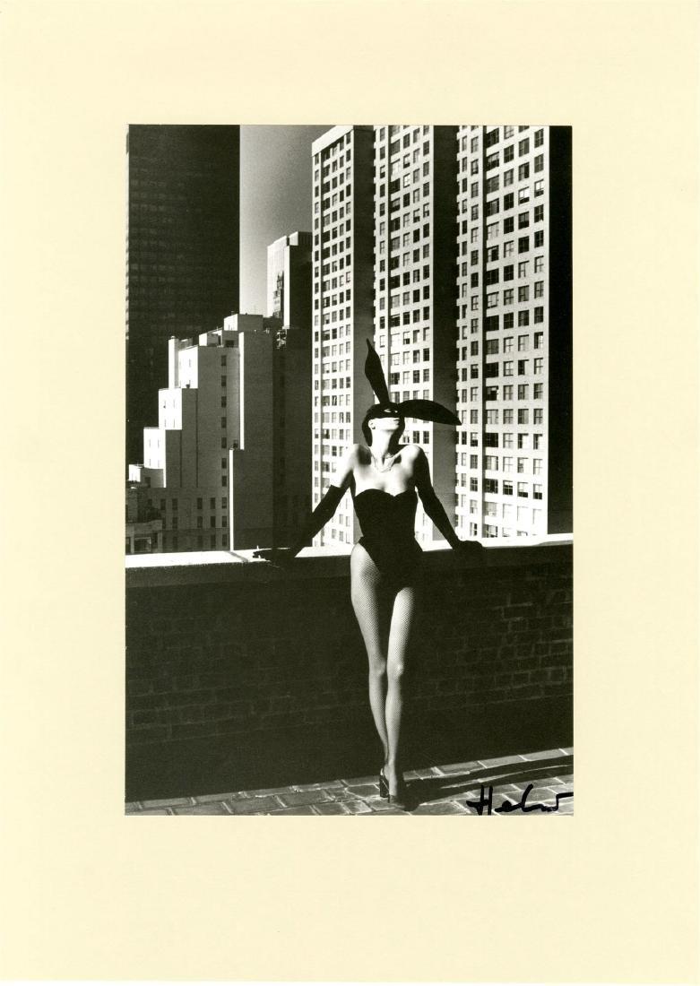 784: HELMUT NEWTON - Elsa Peretti As a Bunny, New York