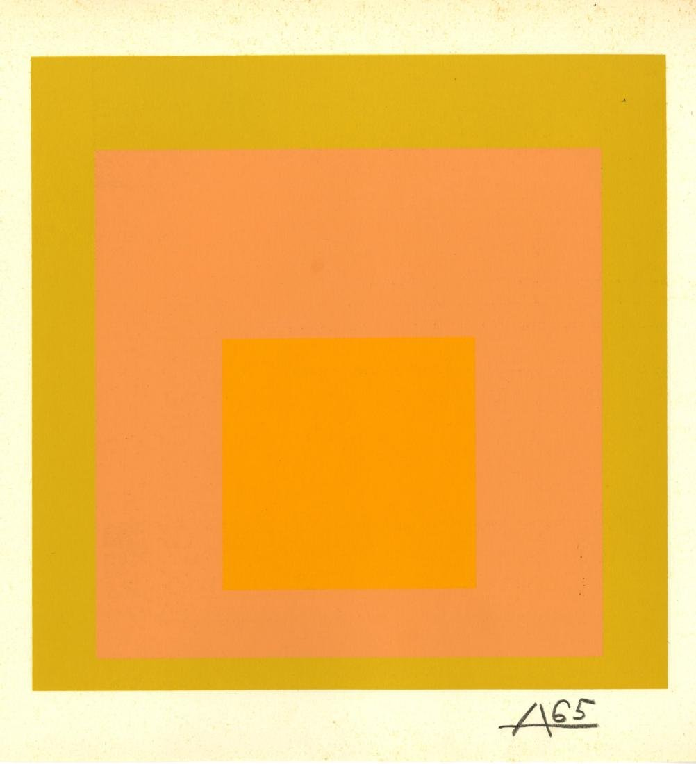 856: JOSEF ALBERS - Homage to the Square: Arrived