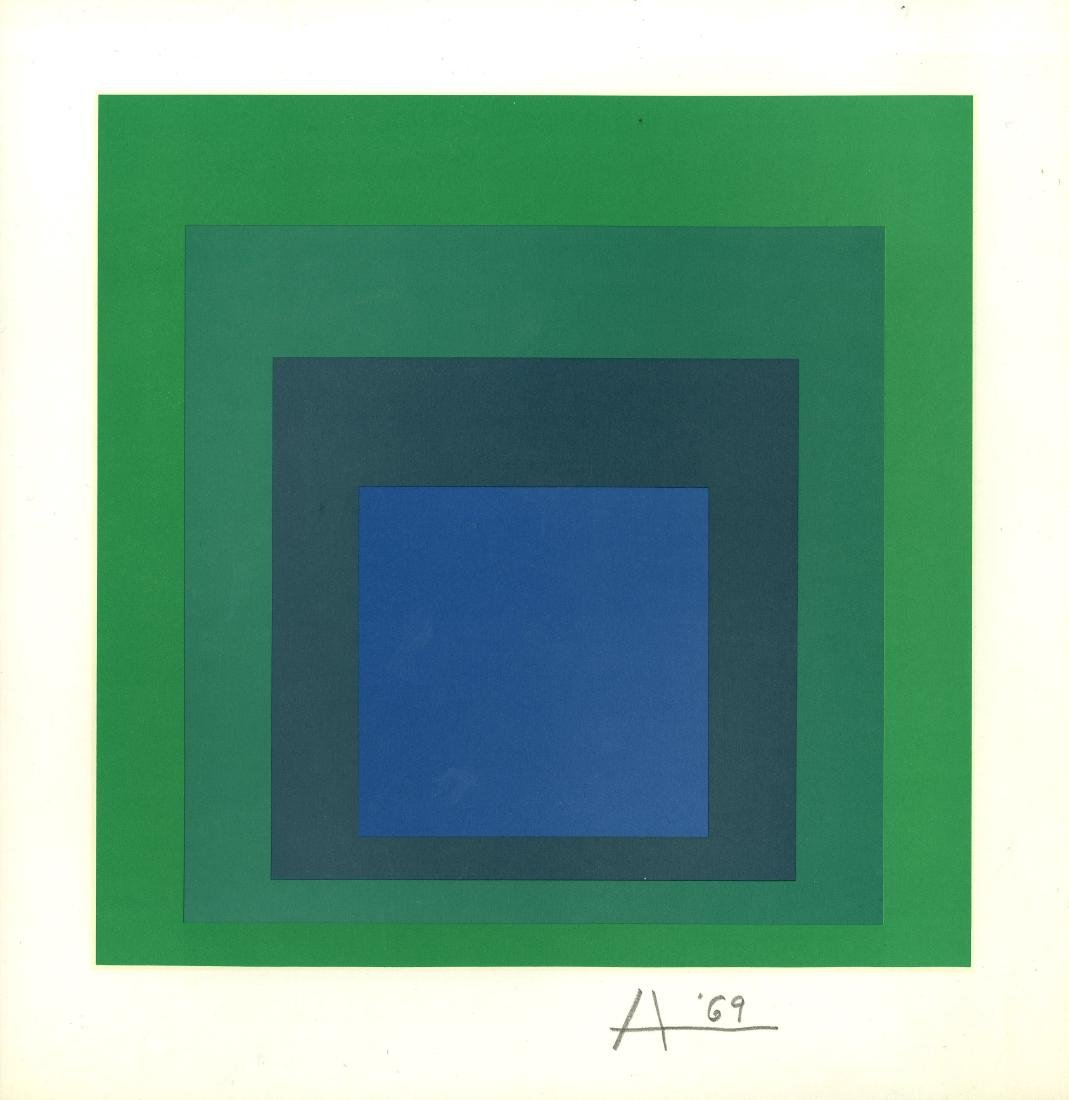 859: JOSEF ALBERS - Homage to the Square: Collaborative
