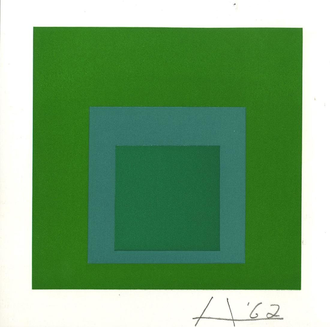 860: JOSEF ALBERS - Homage to the Square: Cool Rising