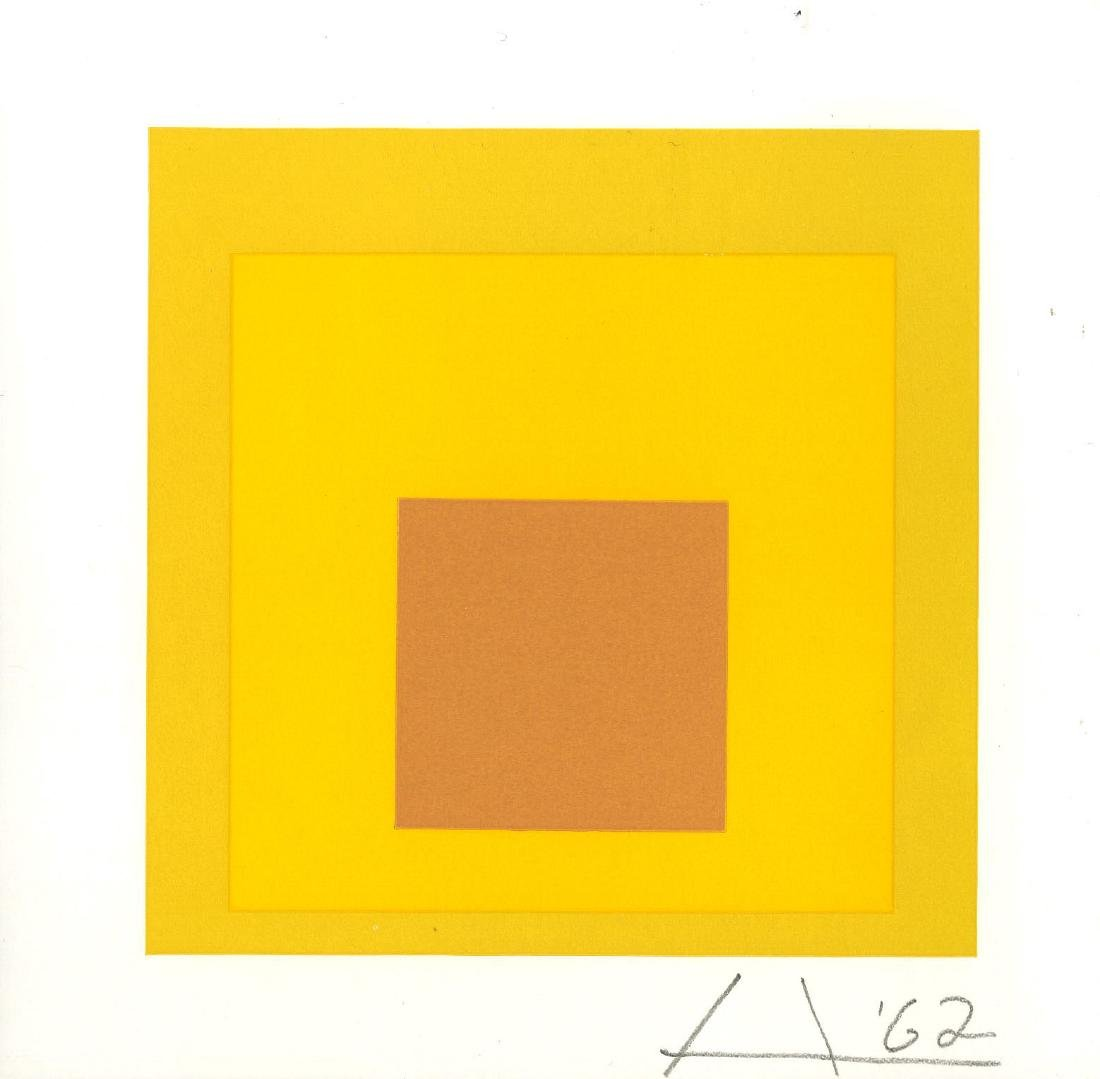 863: JOSEF ALBERS - Homage to the Square: Gentle Hour