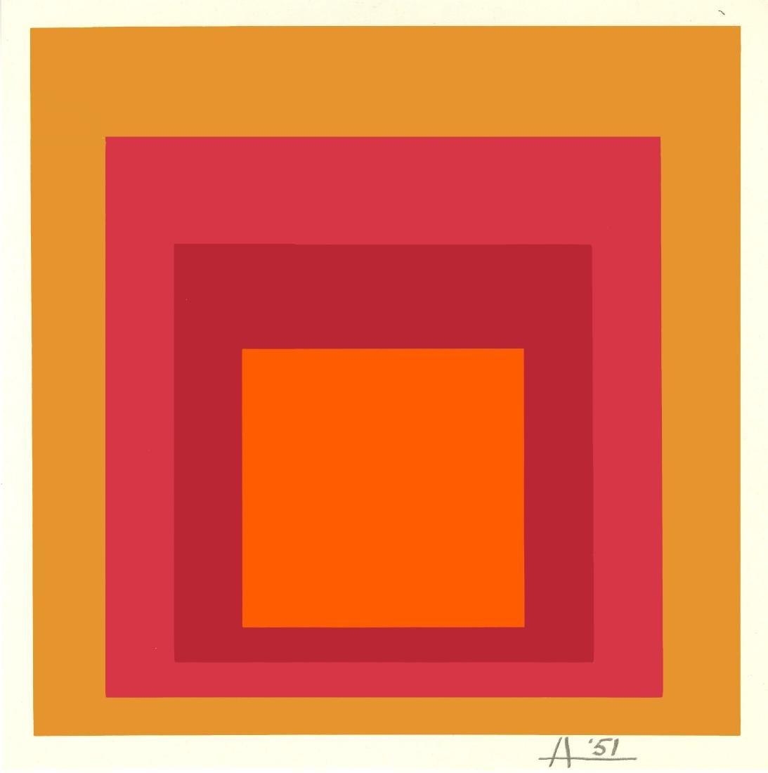 865: JOSEF ALBERS - Homage to the Square: La Tehuana
