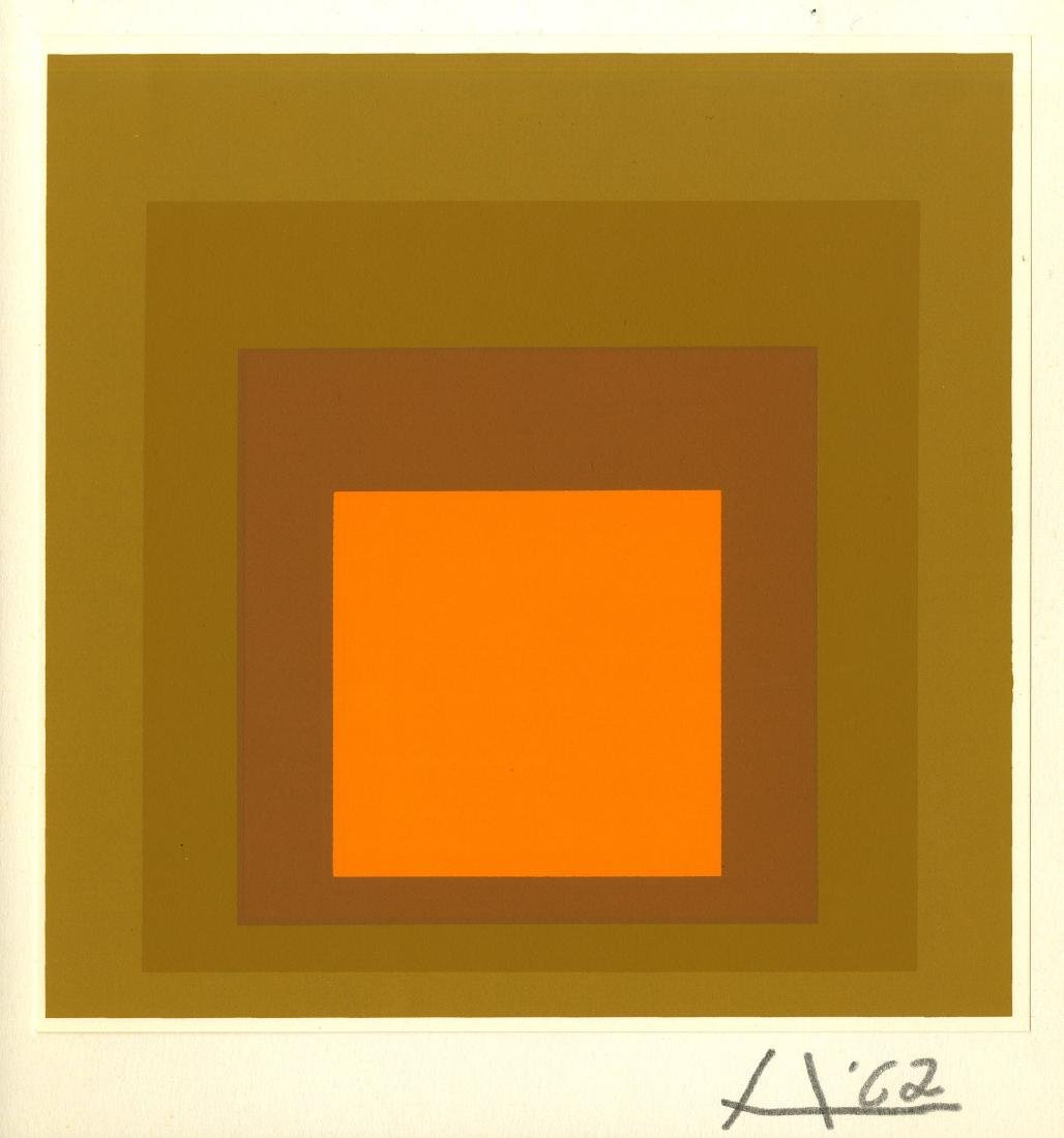869: JOSEF ALBERS - Homage to the Square: Occupied