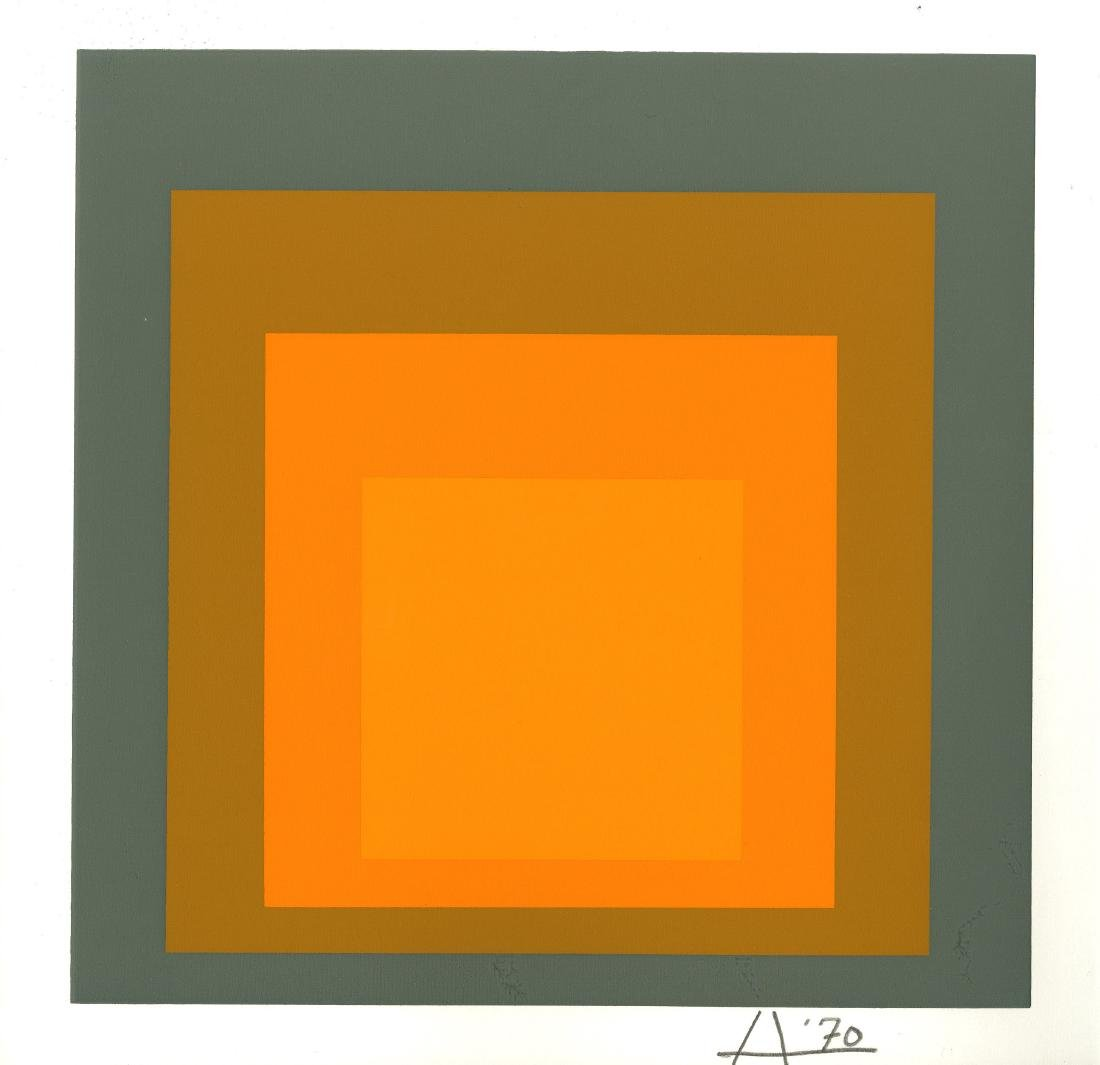 870: JOSEF ALBERS - Homage to the Square: Profuse