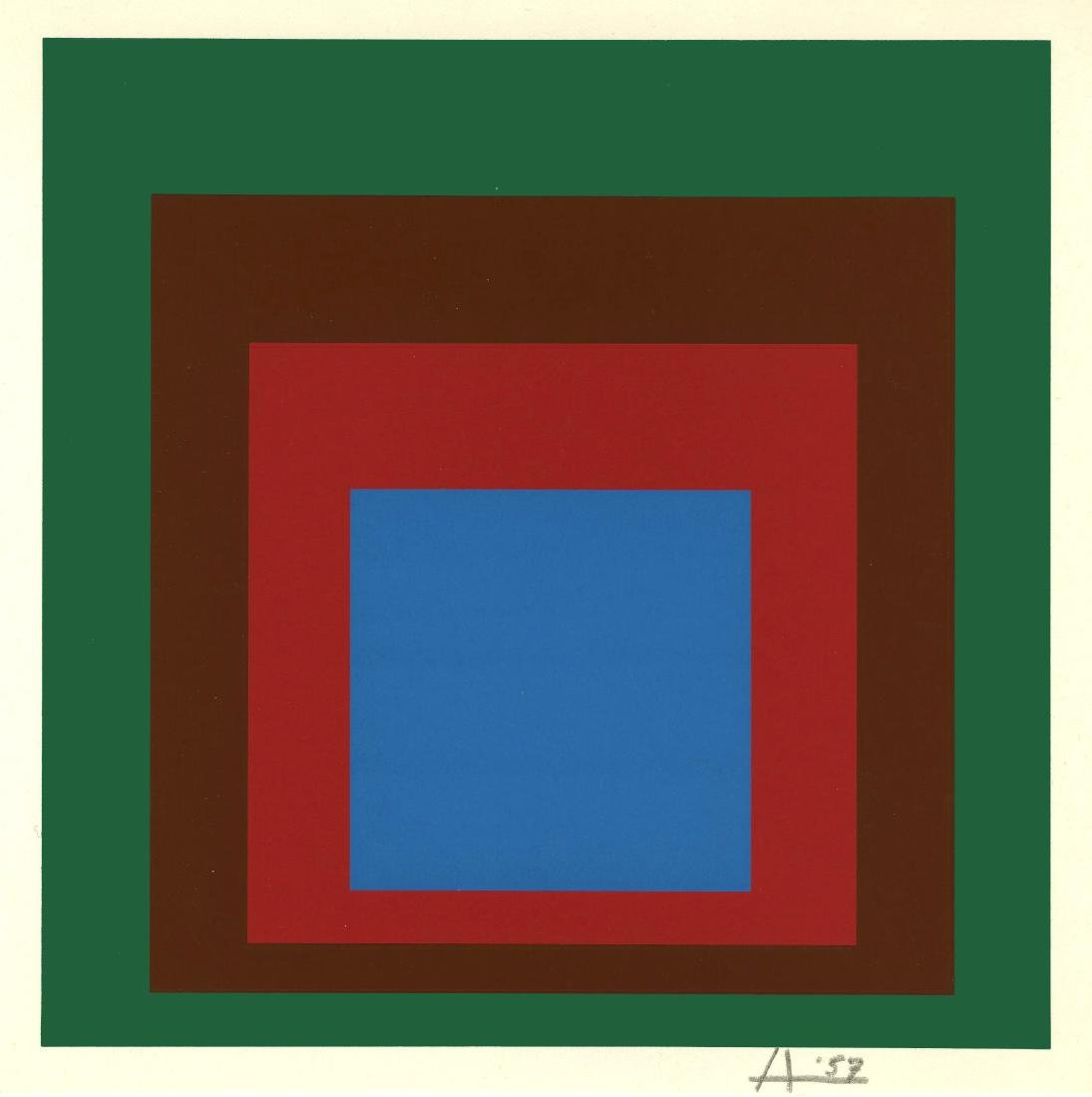 871: JOSEF ALBERS - Homage to the Square: Protected
