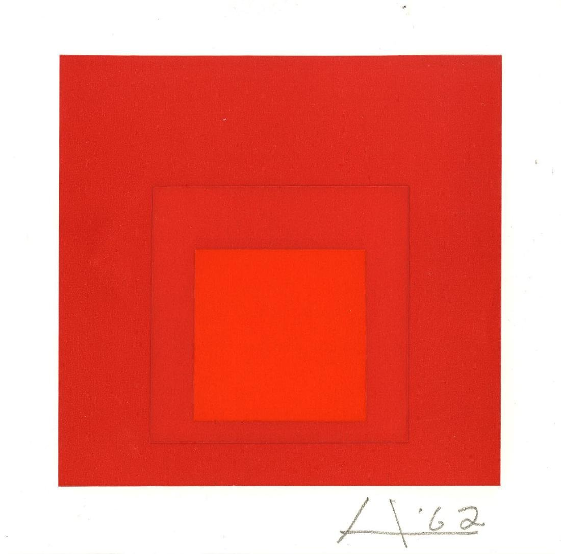 872: JOSEF ALBERS - Homage to the Square: Reveille