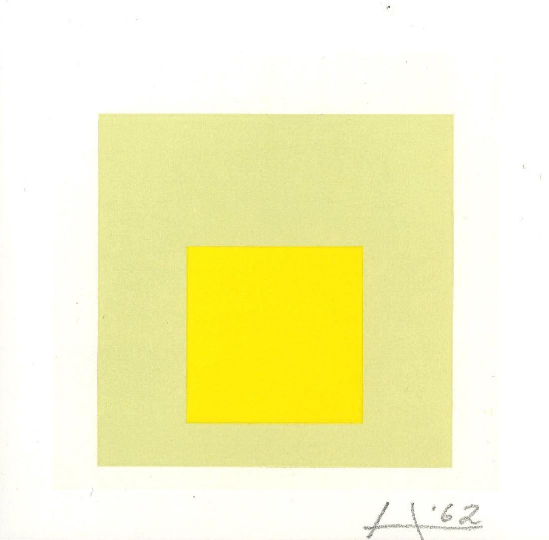 875: JOSEF ALBERS - Homage to the Square: Soft