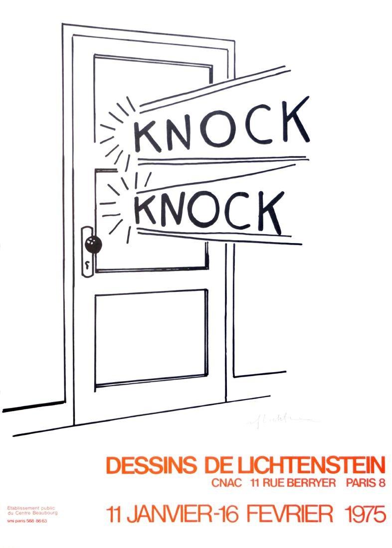 933: ROY LICHTENSTEIN - Knock Knock