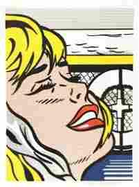1138: ROY LICHTENSTEIN - Shipboard Girl
