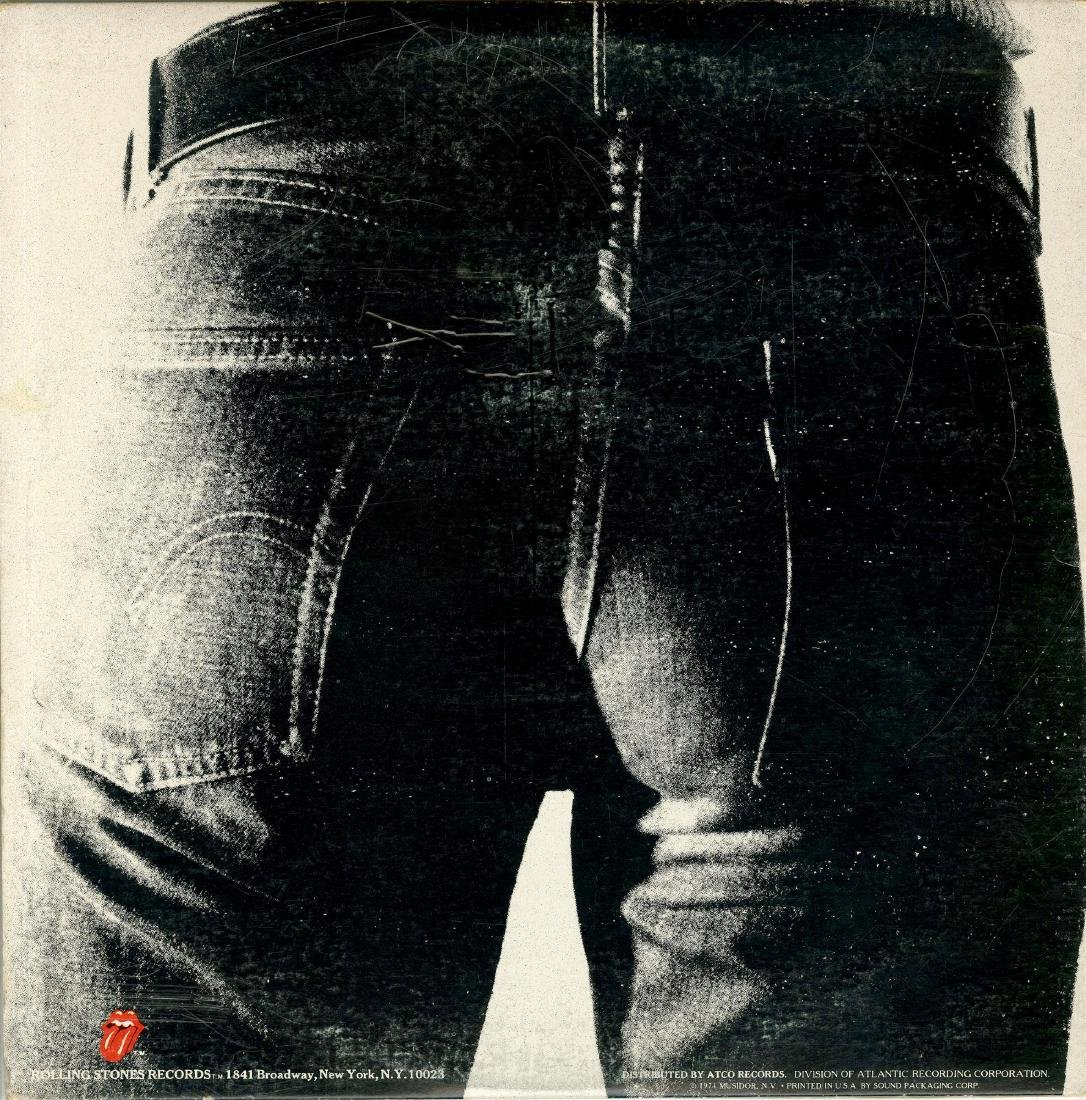 1160: ANDY WARHOL - Sticky Fingers/Rolling Stones - 2