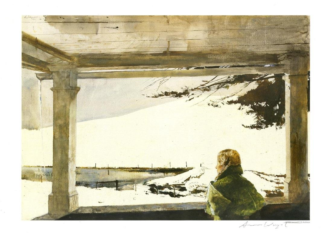 1168: ANDREW WYETH - Study for Easter Sunday