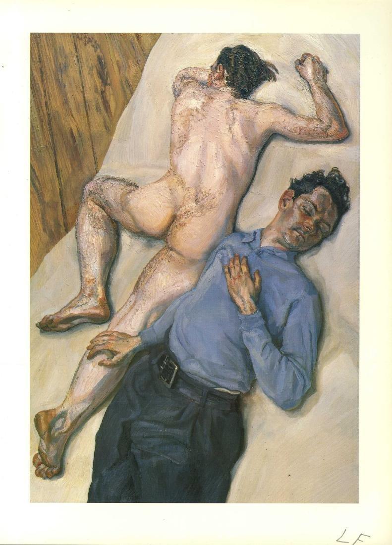 1232: LUCIAN FREUD - Two Men
