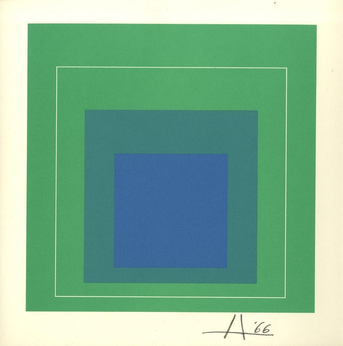 1272: JOSEF ALBERS - White Line Square III