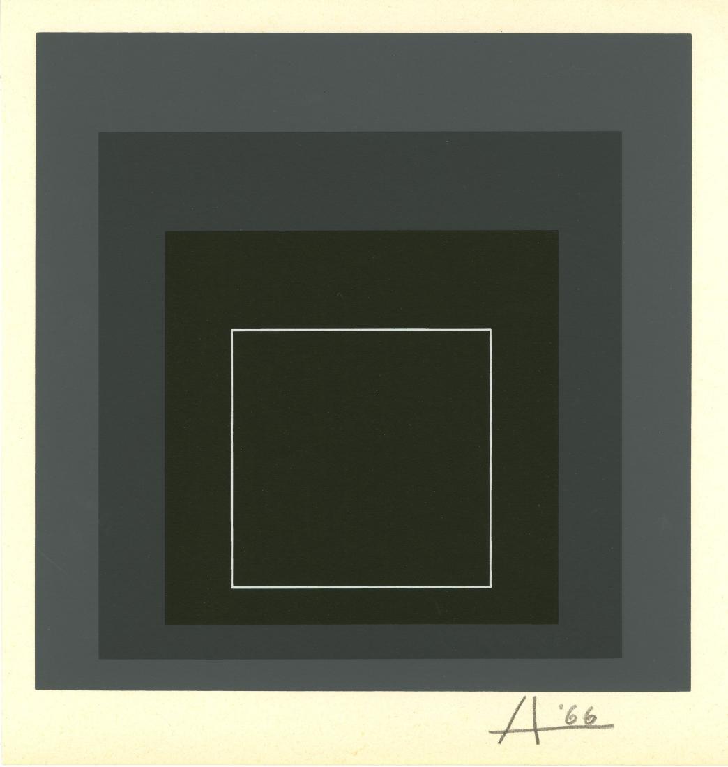 1276: JOSEF ALBERS - White Line Square VIII-a