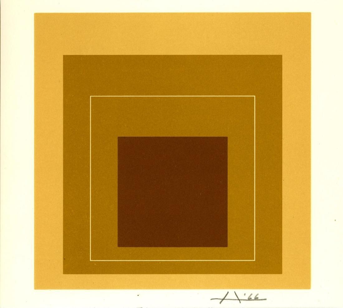 1280: JOSEF ALBERS - White Line Square XVI