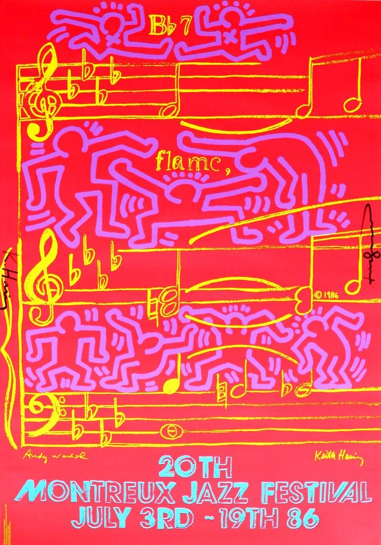 1292: ANDY WARHOL & KEITH HARING - 20th Montreux Jazz