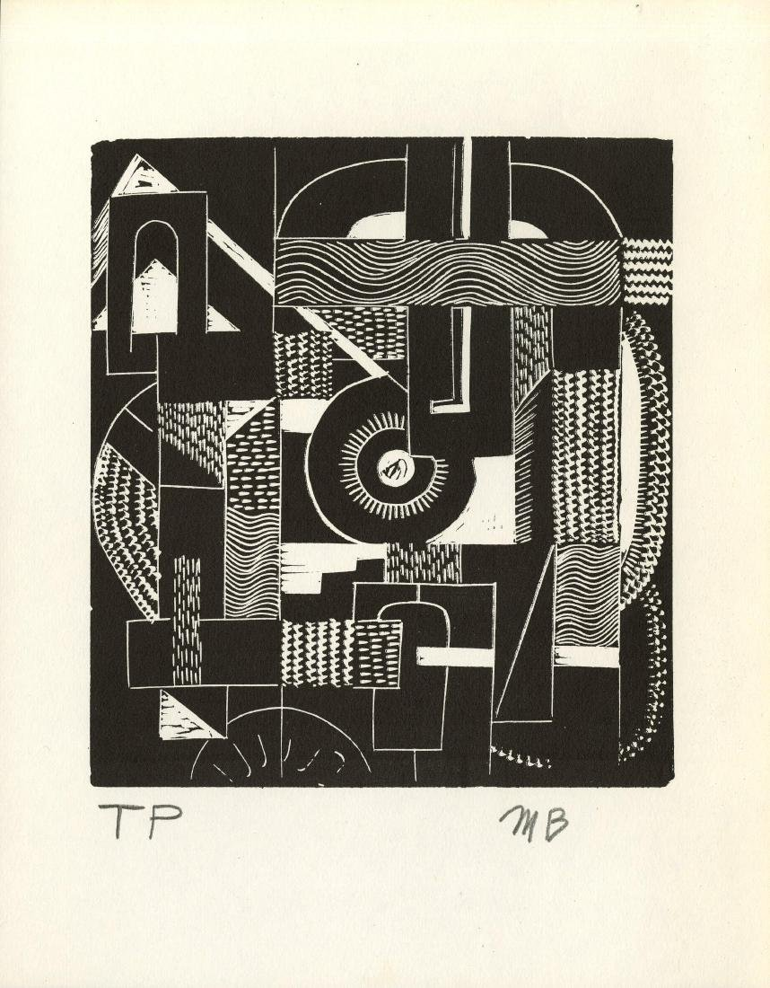 1296: MARGARET BURROUGHS - Abstraction